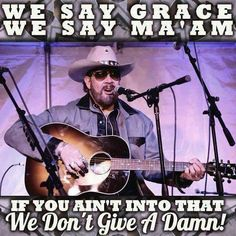 Hank Williams Jr. pinned via Southern Folks ONLY FB page