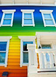 Bildergebnis für fassade regenbogen