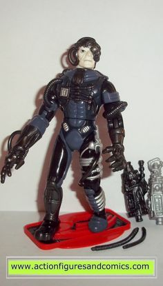 Playmates Toys STAR TREK: The Next Generation action figures 1992 series 1, BORG 100% COMPLETE with all weapons/accessories Condition: Excellent - displayed only figure size:4 1/2 inches -------------