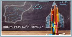 RIOS Y VERTIENTES DE ESPAÑA  #tests #aprendejugando #geografia #españa