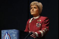 SNP leader Nicola Sturgeon has set out her plans for the entire universe.