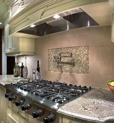 Mombassa Granite Kitchen Countertop - Can be made from concrete overlay