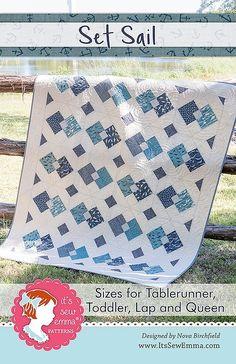 Set Sail Quilt Pattern<BR>It's Sew Emma