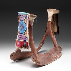 Crow Woman's Beaded Saddle (4/04/2014 - American Indian Art: Live Salesroom Auction)
