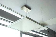 Kit completo de cables de acero para colgar paneles led del techo o cualquier superficie