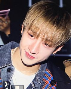 Look at his smile😍❤️ . Chris Chan, Lee Know, The Man, Boy Groups, Bangs, Kpop, Smile, Children, Cute