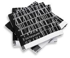 Finlayson Coronna kitchen towel I Coronna-keittiöpyyhe Coron, Fabric Wallpaper, Kitchen Towels, Fabrics, Ideas, Gift List, Pockets, Mondays, Entryway