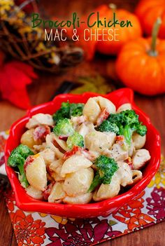 Broccoli-Chicken Mac & Cheese