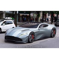 Aston Martin DB11 concept. Check out @royalwhips for more cars! #astonmartin #db11 #conceptcar