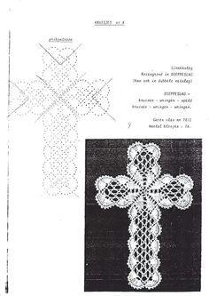 Kuvahaun tulos haulle bobbin lace cross