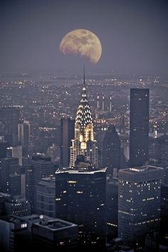 When you get lost between the Moon and New York City.