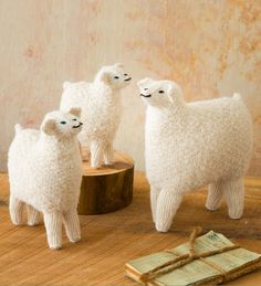 3 Hand-Woven Alpaca Wool Sheep Figurines $49.95  Hand woven by Peruvian artisans, using alpaca wool and a traditional stick weaving technique, this woolly trio provides soft texture and delicate craftsmanship fit for a model nativity scene, a bright Easter centerpiece, or to celebrate the birth of your own little one | Allpa  Founded in 1986 by young Peruvian professionals to support a Peruvian artisans market to showcase  handmade crafts and seeks to savor the Peruvian cultural history.