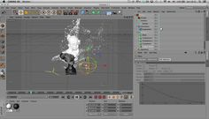 Quick tutorial on how to use the x-particles fragmentor object for peeling effects. #C4D #X-Particles