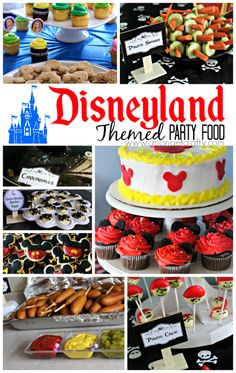 Disneyland Themed Party Food Ideas http://cmongetcrafty.com/disneyland-themed-party-food-ideas-free-printables/