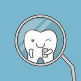 Tooth Makes Selfie At Dental Mirror. - Download From Over 64 Million High Quality Stock Photos, Images, Vectors. Sign up for FREE today. Image: 69987453