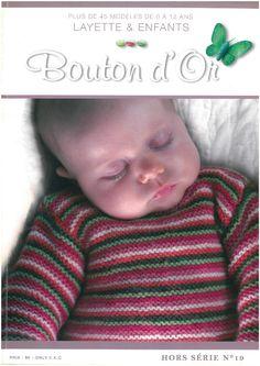 Album sous forme d& Crochet Books, Knit Crochet, Knitting Magazine, Baby Knitting Patterns, Pattern Books, Christmas Sweaters, Free Pattern, Album, Sewing