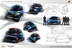 Audi M1 2+2 Concept - Design Panel