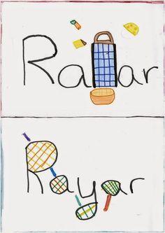 «Rallar» y «rayar», más claro imposible.