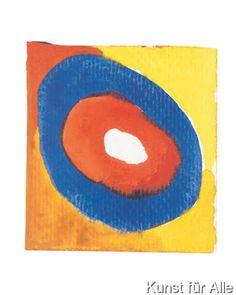 Wassily Kandinsky - Colour studies...II