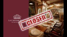 Почему ресторан La Cantine закрылся?..