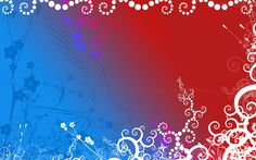 papel de parede azul e branco floral - Pesquisa Google