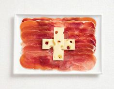 18 National Flags Made From Food «TwistedSifter: