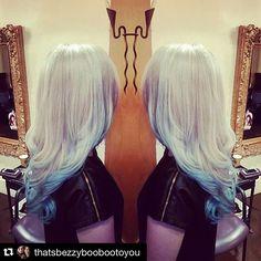 """Amanda's got the summer blues@pravana @jigsawforhair #hairbykbez #jigsawforhair #yegstylist #yegsalon #yeghair #goldwellcolor #goldwellcolorist #pravanacolor #pravanapastels #pravana #bluehair #bluehairdontcare #blondesofinstagram #blondehair #icyblonde #hairaddiction #hair #mermaidhair"" Photo taken by @jigsawforhair on Instagram, pinned via the InstaPin iOS App! http://www.instapinapp.com (07/25/2015)"