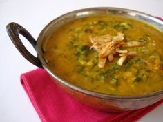 Lentil with Spinach
