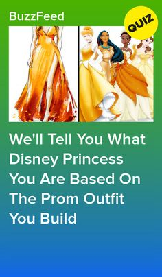 We'll Tell You What Disney Princess You Are Based On The Prom Outfit You Build The most magical night of your life, just like you're a princess. Disney Princess Quiz Buzzfeed, Disney Princess Facts, Disney Fun Facts, Disney Quiz, Disney Movies, Disney Songs, Disney Princesses, Disney Characters, Quizzes Funny