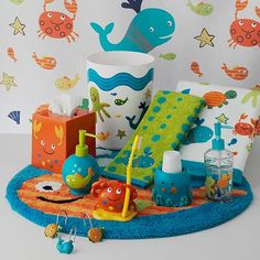Jumping Beans Underwater Creature Bath Accessories