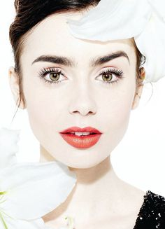 Lily Collins for Angeleno magazine. Pinned by @lilyriverside