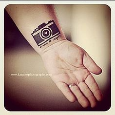 love. i'm getting a camera tattoo just didn't know what i want, but i like this idea