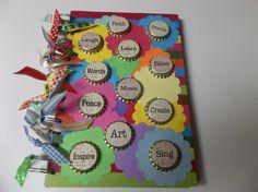 OOAK Inspirational Journal Homeschool Journal by SerendipityWorld, $15.00