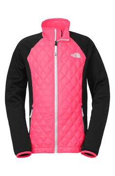 The North Face 'ThermoBall™' Quilted Hybrid Jacket (Big Girls) available at #Nordstrom