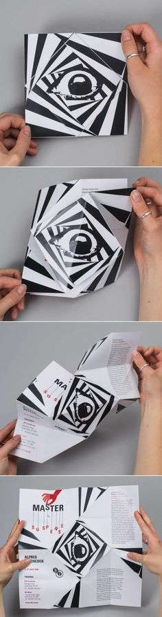 Lovely example of a folded brochure by Andy Tharagonnet