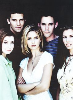 The cast of Buffy the vampire slayer. Hehe :)