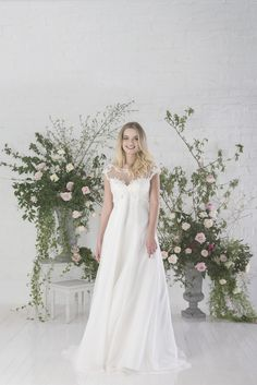 Sofia | Charlotte Baliber | Untamed Love Collection || Bridal Gowns | http://www.rockmywedding.co.uk/untamed-love-charlotte-balbier/