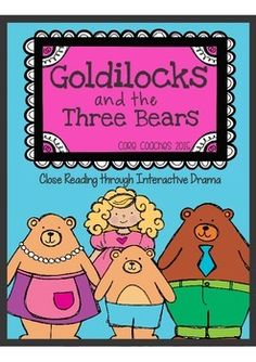 Are you looking for meaningful learning activities that will keep students engaged? This close reading unit is the perfect solution as students utilize interactive drama to show their deepening understanding of the story, Goldilocks and the Three Bears What Is Close Reading, Close Reading Lessons, Reading Lesson Plans, Drama Activities, Reading Activities, Kids Reading, Comprehension Activities, Reading Comprehension, Depth Of Knowledge