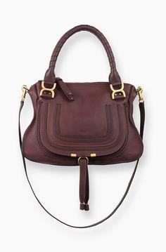 Chloe Marcie Small Leather Satchel: SGD$3,001