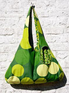 Omkeerbare Zomertas - Reversible Summer bag by eloleo.be, via Flickr