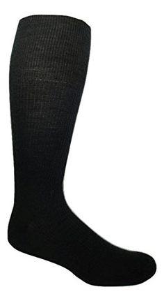 d6f36486a96 6 Pairs Merino Wool Black Dress Socks (Men s (8-12 Shoe))