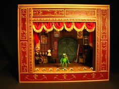 LANCE CARDINAL: Scratch Built Muppet Theatre Playset