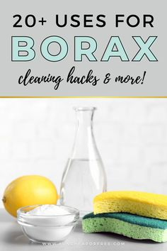 Did you know there are more than a handful of uses for Borax? We're about to share dozens of borax uses, hacks, and tips that will blow your mind.
