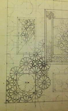 From the notebooks of James Wild. In the V&A in London.