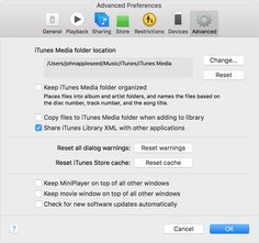 External backup for iTunes - Library