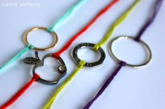 Sweet Verbena: Bracelets: a tutorial