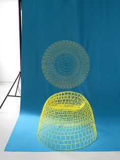 NETwork 3D stitching furniture edition by Studio Aisslinger
