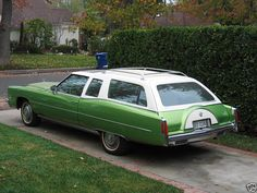 Cadillac Eldorado station wagon - who takes the time to create such things? Not the factory.