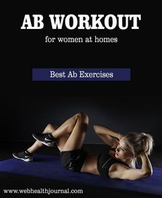 AB WORKOUT FOR WOMEN AT HOME - Best Ab Exercises #ABSInformationAndTips #BestAbsExercises