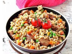 Перловка с мясом и овощами: Соседка дала рецепт в обмен на мой секретный рецепт блинчиков
